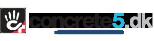 Concrete5 Danmark Logo